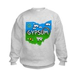 Gypsum, Ohio. Kid Themed Sweatshirt