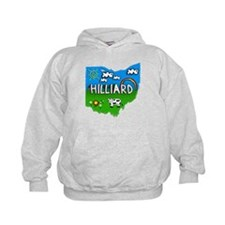 Hilliard, Ohio. Kid Themed Hoodie