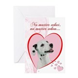 Dalmatian Valentine's Card