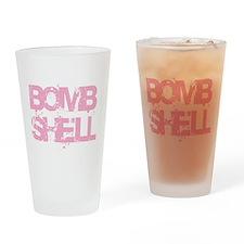 Bomb Shell Drinking Glass