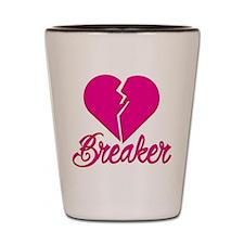 Heartbreaker Shot Glass