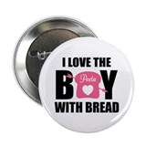 "HG I love the boy with bread 2.25"" Button"
