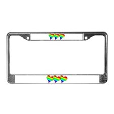 Cool Gay love License Plate Frame