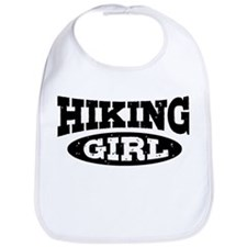 Hiking Girl Bib