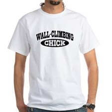 Wall Climbing Chick Shirt