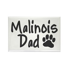 Malinois DAD Rectangle Magnet