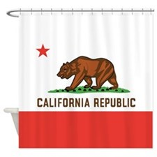 California Flag Shower Curtain