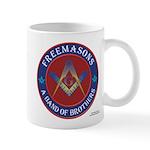 Band of Brothers Masonic Mug