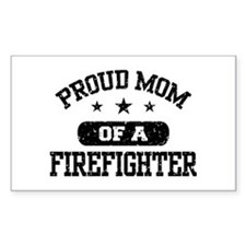 Proud Mom of a Firefighter Stickers