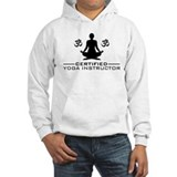 Certified Yoga Instructor Hoodie Sweatshirt