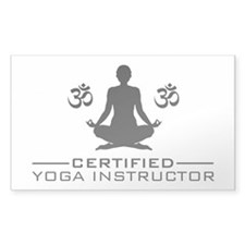 Certified Yoga Instructor Decal