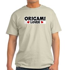 ORIGAMI Lover Ash Grey T-Shirt