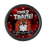 Time 2 Train! - Large Wall Clock