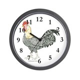 Charlie Rooster Wall Clock