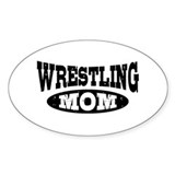 Wrestling Mom Decal