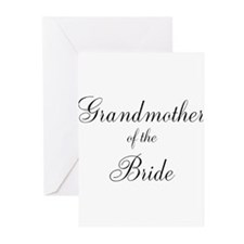 Grandmother of the Bride Greeting Cards (Pk of 10)