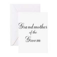 Grandmother of the Groom Greeting Cards (Pk of 10)