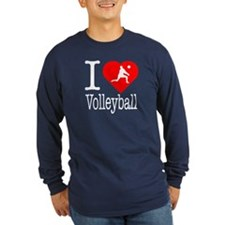 I Love Volleyball T