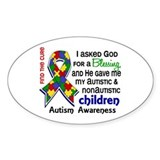 Blessing 4 Autism Decal