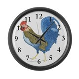 Gabriel Rooster Large Wall Clock