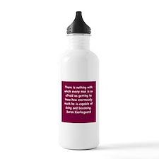 kierkegaard Water Bottle