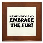 Newfoundland Framed Tile