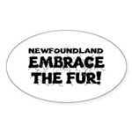 Newfoundland Sticker (Oval 10 pk)