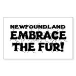 Newfoundland Sticker (Rectangle)
