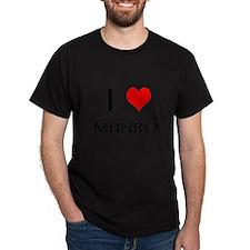 I Love Munro T-Shirt