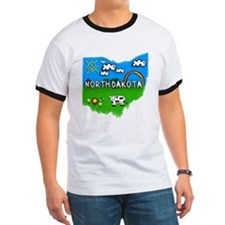 North Dakota, Ohio. Kid Themed T