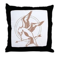 Mockingjay Art Throw Pillow