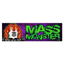 MASS MONSTER - Bumper Sticker