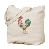 Joseph Rooster Tote Bag