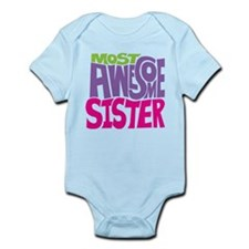 Most Awesome Sister Infant Bodysuit