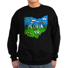 Peoria, Ohio. Kid Themed Sweatshirt