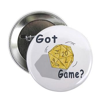 "Got Game? 2.25"" Button (10 pack)"