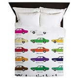 P76 colours Queen Duvet