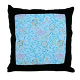 Explore Underwater Throw Pillow