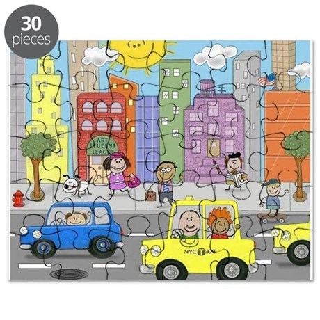 New York City West 57th Street Puzzle