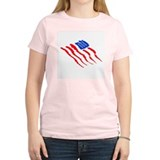 American Flag Art Design T-Shirt