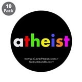 """Atheist"" 3.5"" Button (10 pack)"