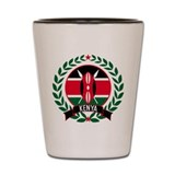 Kenya Wreath Shot Glass