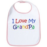 Cute Grandpa Bib
