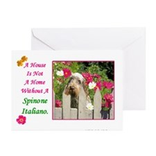 Cute Spinone Greeting Cards (Pk of 10)