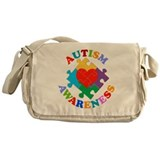 Autism Awareness Messenger Bag