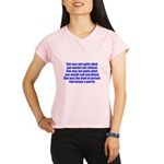 keeps parrot text only Performance Dry T-Shirt