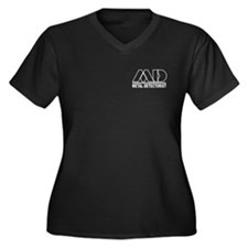 MD - Metal Detectorist Hollow Women's Plus Size V-