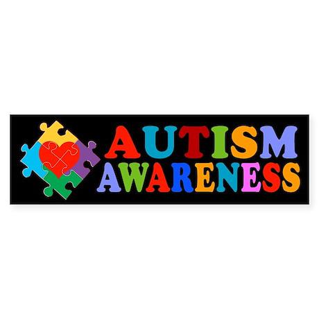 Autism Awareness Bumper Sticker By Awarenessx