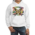 Autism Awareness Butterfly Hooded Sweatshirt