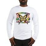 Autism Awareness Butterfly Long Sleeve T-Shirt